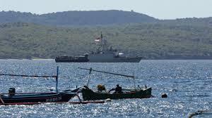 Missing Indonesian Submarine: Warships ...