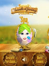 sara s thanksgiving salon with hot beauty spa fashion make up and star dress makeover
