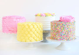 4 Easy Buttercream Cakes I Am Baker