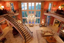 Million Dollar Entry Room traditional-living-room