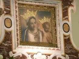 Risultati immagini per dipinto madonna santuario leuca