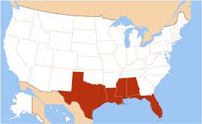 Costa del golfo de Estados Unidos