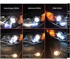 Light Bulb 5000k Vs 6500k 4300k Vs 5000k Hid Color Temperature Comparison Clublexus