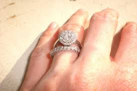 engagement rings and wedding bands. show me your wedding band/engagement ring gap engagement rings and bands
