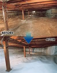 crawl space insulation cost. Exellent Space Crawl Space Vapor Barriers Brothers Restoration Denver And Insulation Cost W