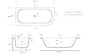 standard bathtub surround dimensions corner b sizes shower bathb length soaking deep average size 3 foot standard hot tub cover dimensions