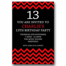 13th Party Invitations 13th Birthday Party Invitations Kosmodisk Info