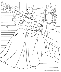 Small Picture Cinderella color page disney coloring pages color plate