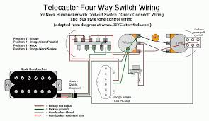 4 way telecaster switch wiring diagram wirdig