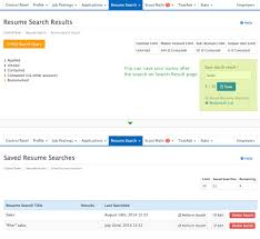 Saved Resume Searches Careercross
