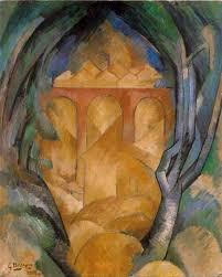 georges braque 1908 le viaduc de l estaque viaduct at l estaque oil on canvas 73 x 60 cm tel aviv museum of art