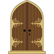 castle doors clipart