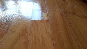 peaked plank ends water damaged hardwood flooring