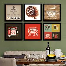 Coffee Time Theme Wall Display Retro Pop Art Posters for SOHO Office Cafe  Bistro Coffee Shop