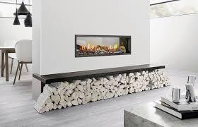 heat glo mezzo 1300 double sided logs
