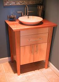 bathroom sink cabinet base. Image Of Aesthetic Single Sink Bathroom Vanity With Top Using Varnished Butcher Block Countertops Round Cabinet Base N