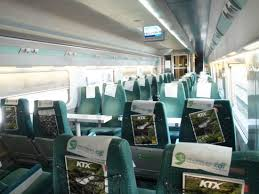 Ktx Seating Chart Seats Picture Of Ktx Korea Train Express Seoul