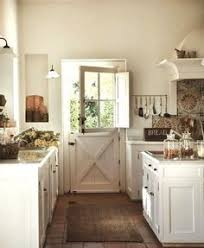 loving all of the textures in this farmhouse kitchen 3 kitchen
