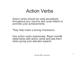 Action Verbs Resume Awesome Action Verbs For Resumes