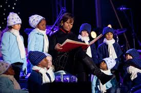 File Michelle Obama At The National Christmas Tree Lighting