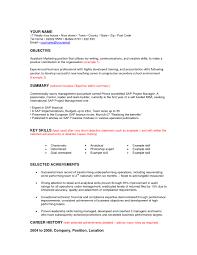 Outstanding Combination Resume Sample Career Change Mold