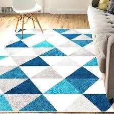 geometric area rugs 8x10 geometric area rug mystic modern abstract triangle geometric blue area rug mystic