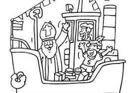 Zwarte Piet Kleurplaat Ideeën Kleurplaat Sinterklaas Peuters Nt79