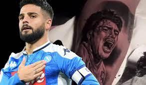 1.63 m (5 ft 4 in) playing position(s): Maradona En La Piel Del Napoli Capitan Insigne Se Tatua Obra De Arte Mediotiempo