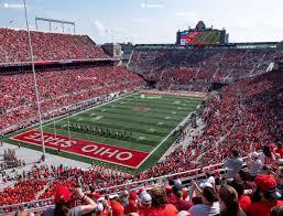 Ohio State University Horseshoe Stadium Seating Chart Ohio Stadium Section 9 C Seat Views Seatgeek