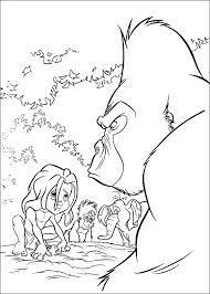 Gorilla Kleurplaat Shshiinfo