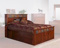 Sunny Designs Bedroom Furniture Petite Bed W Storage Headboard Santa Fe By Sunny Designs Su 2333dc S