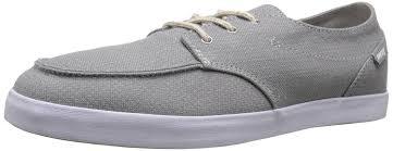 Reef Mens Deck Hand 2 Tx Grey Ocean Shoes Trainers Reef