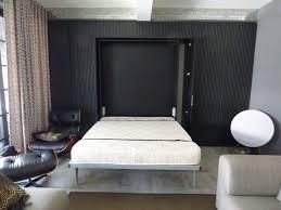 hidden wall bed. Slumbershelves Hidden Wall Bed Modern-living-room .