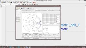 Smith Chart Simulation Software Ads Smith Chart Tool Auto 2 Element Match Tutorial