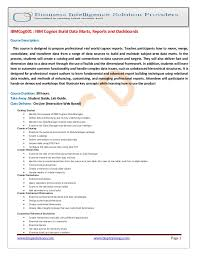 Executive Editor Job Description Extraordinary Ibm Cognos Build Data Marts Reports And Dashboards
