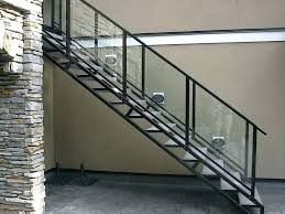 glass deck railing systems home depot aluminum stair railing systems attractive all home design