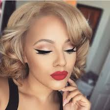 simple clic makeup look