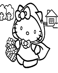 This adorably spooky coloring book comes with so many different pages to color! Hello Kitty Halloween Coloring Pages Best Coloring Pages For Kids