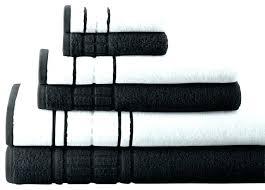 black and white bath towels. White Bathroom Towels Black And Bath Decorative 7 Photo