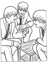The Beatles Kleurplaten Animaatjesnl