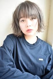 丸顔さん専用黒髪派のための愛されショートヘアスタイル2019