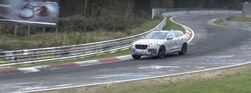2018 jaguar f pace svr. delighful pace 2018 jaguar fpace svr testing on nurburgring  on jaguar f pace svr