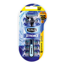 Schick Xtreme 3 Male Shaving Kit Subzero Razor 6 Catridges