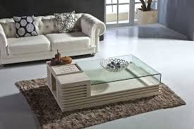 coffee table center table for living room center table with glass top and storage with