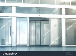 office entrance doors office entrance doors uk office glass door entrance designs blank sliding glass doors entrance mockup 3d rendering commercial