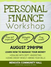 Personal Finance Workshop Flyer Template Postermywall