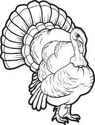 Small Picture a happy turkey printable happy thanksgiving turkey coloring page