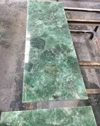 Modern coffee tables for a luxe living room. China Excellent Quality Blue Agate Stone Slabs Green Crystal Quartz Coffee Table Top Union Manufacturer And Supplier Union
