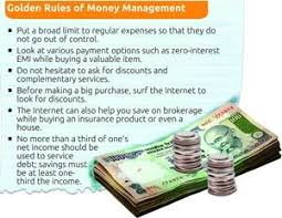 golden rules of money management how to manage your finances  golden rules of money management how to manage your finances money management managing money and money budget