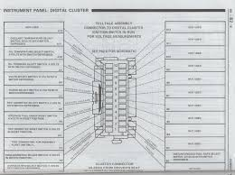 batee com 1984 1989 c4 corvette digital cluster instrument gauge this stuff is from the 1986 factory manual if you found it useful go out and buy one